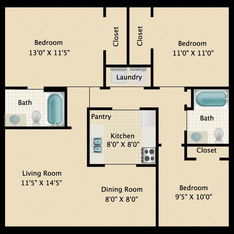 Floor plan image of Lonestar