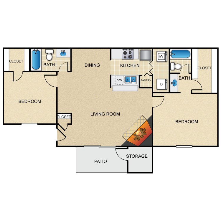 B1 floor plan image