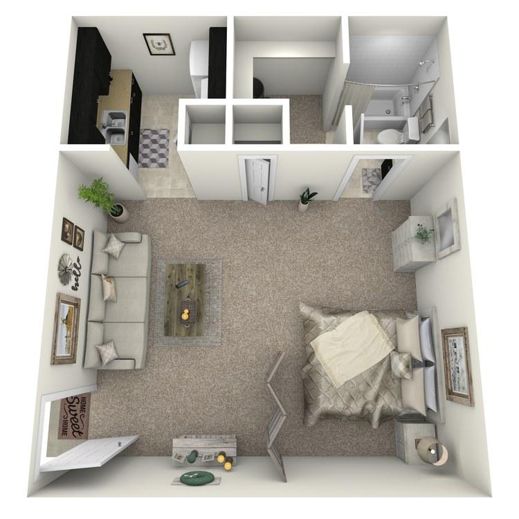 Floor plan image of E-LUX