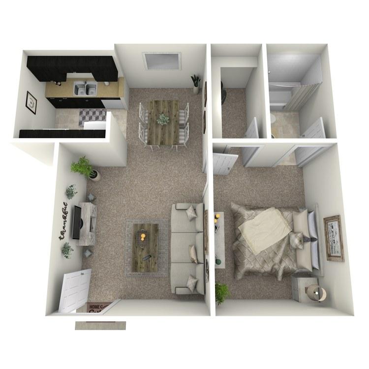 Floor plan image of JR.