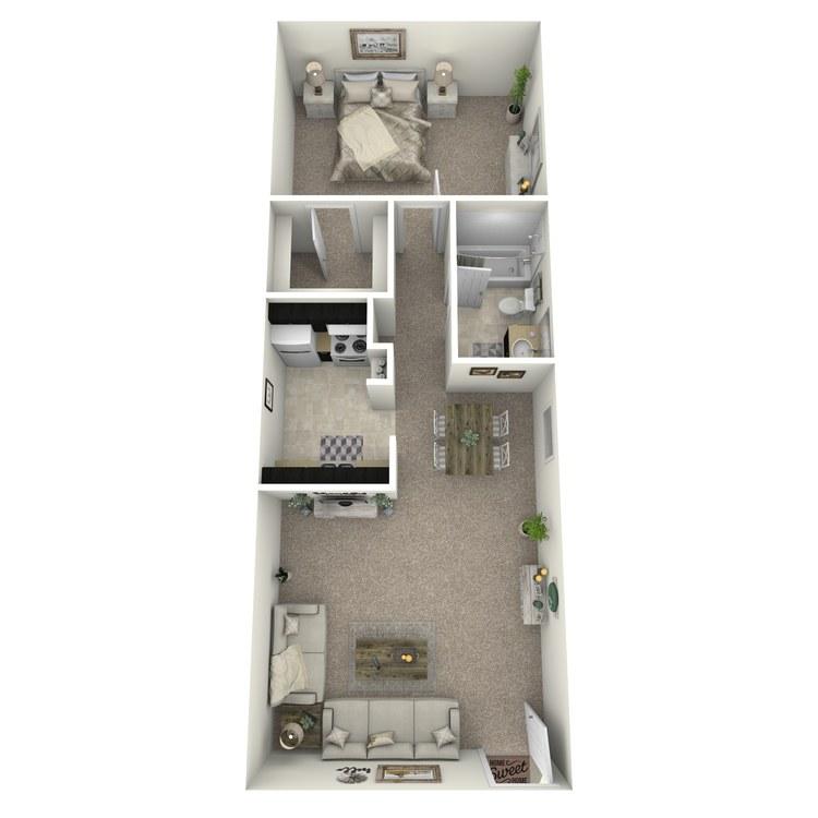 Floor plan image of A-4