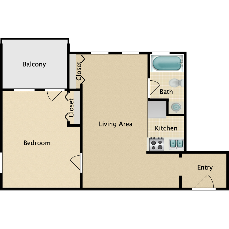 Floor plan image of Sheridan