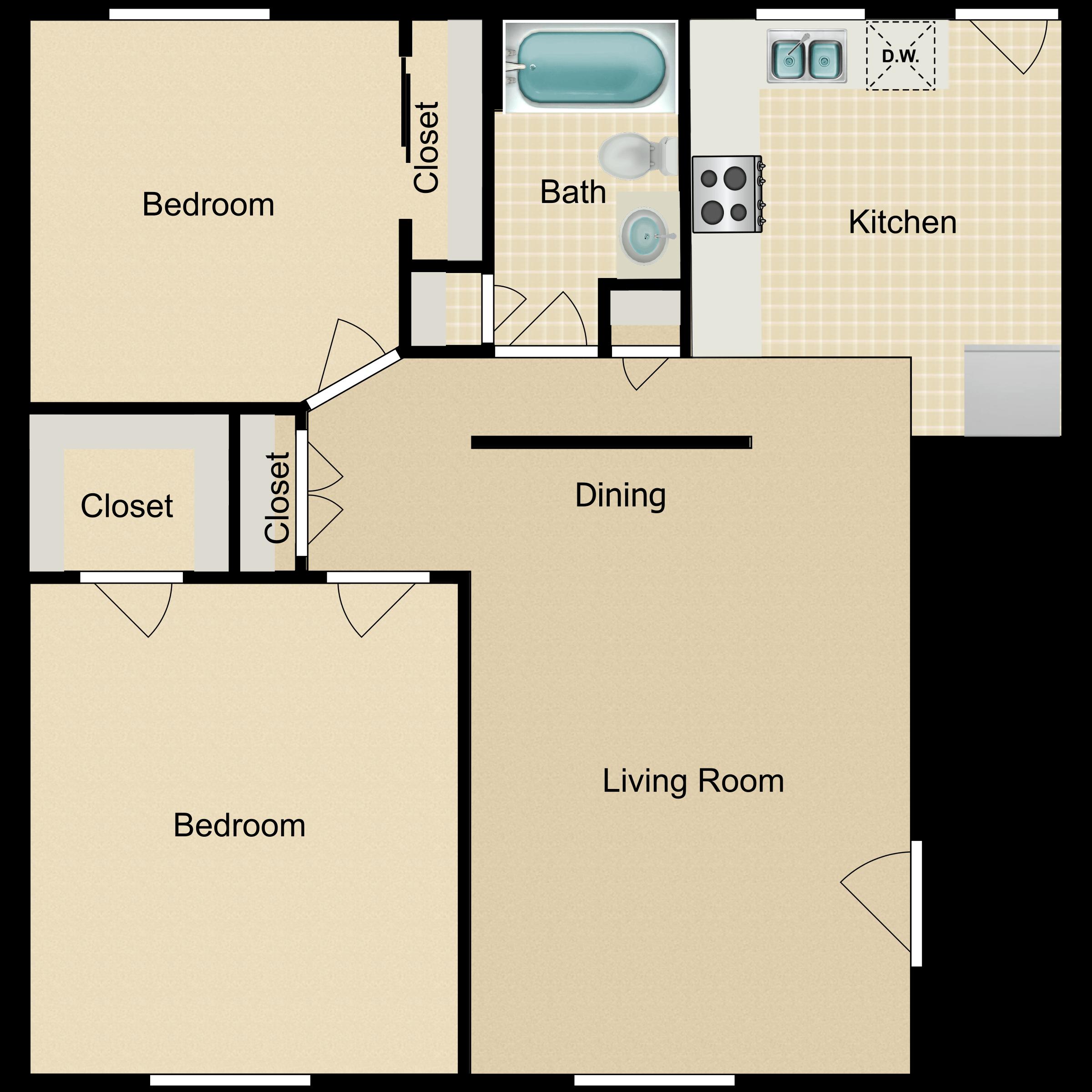Floor plan image of Garden