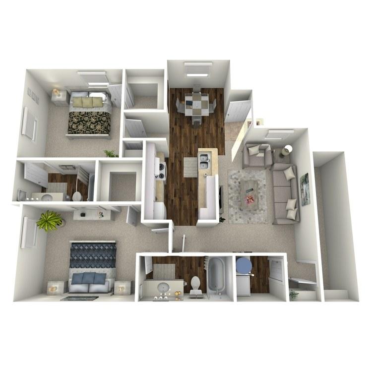 Floor plan image of Plan D1
