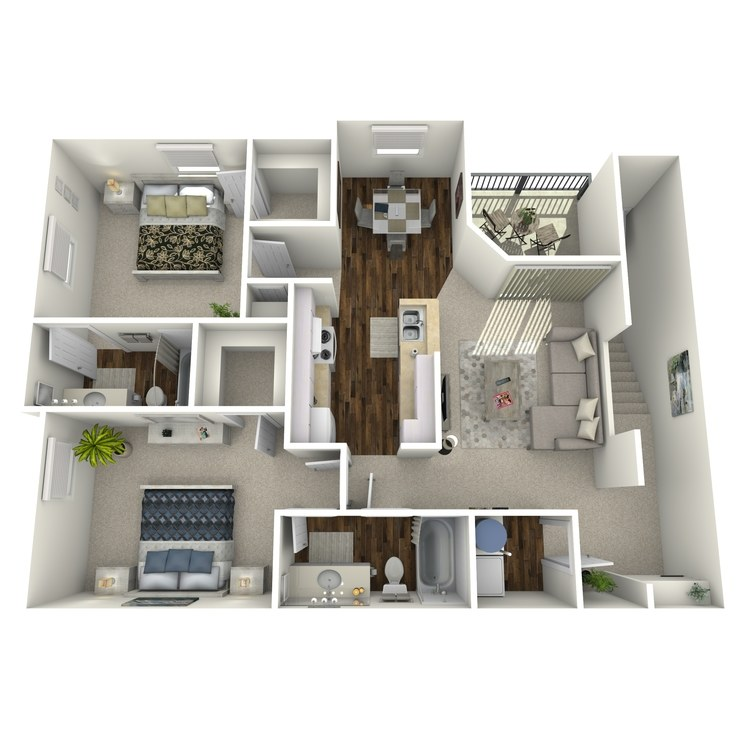 Floor plan image of Plan D2