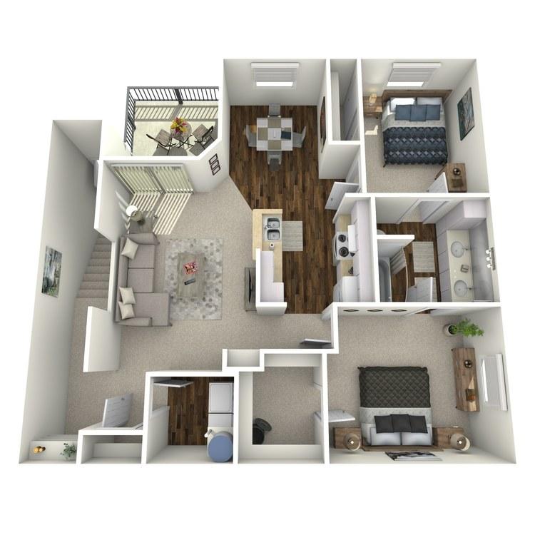 Floor plan image of Plan C2