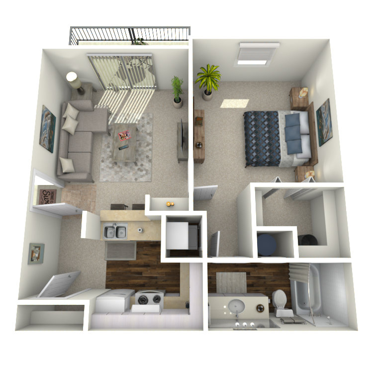 Floor plan image of Plan A1