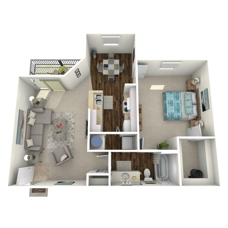 Floor plan image of Plan B2