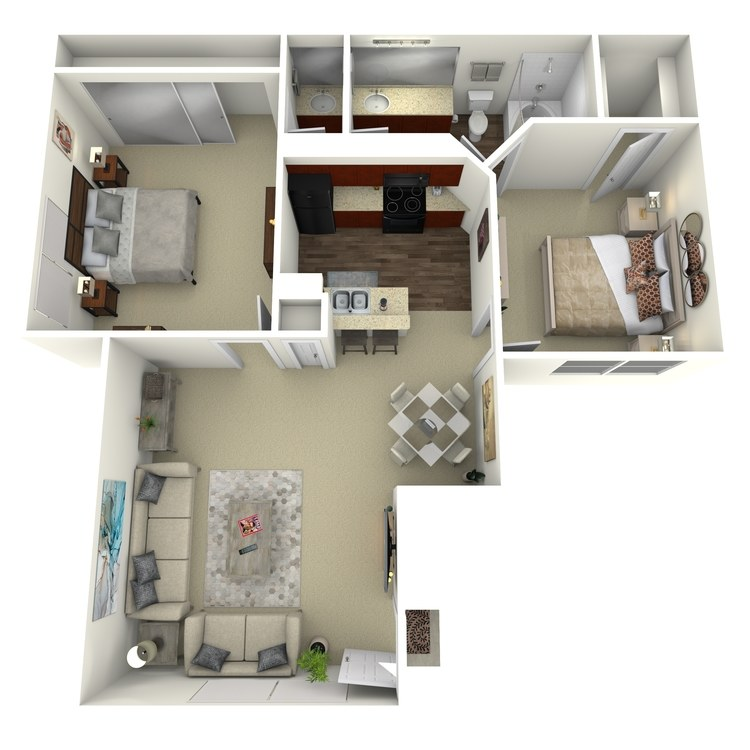 Floor plan image of Ruidoso