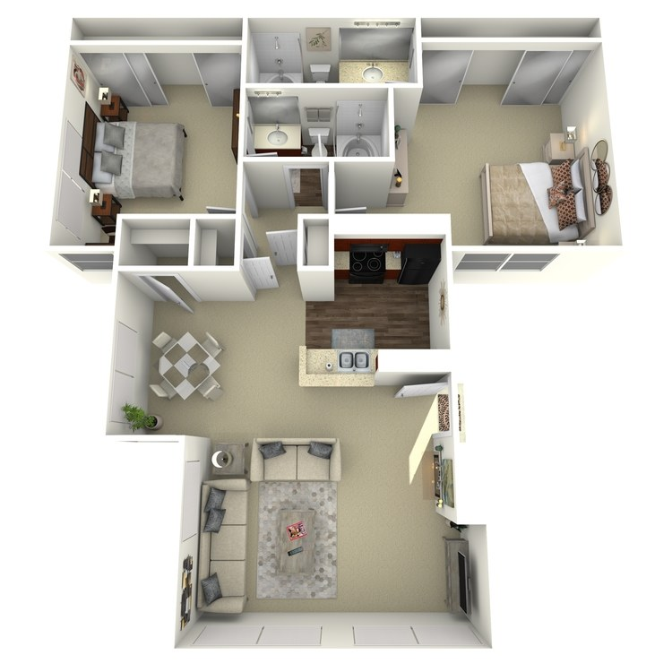 Floor plan image of Santa Fe