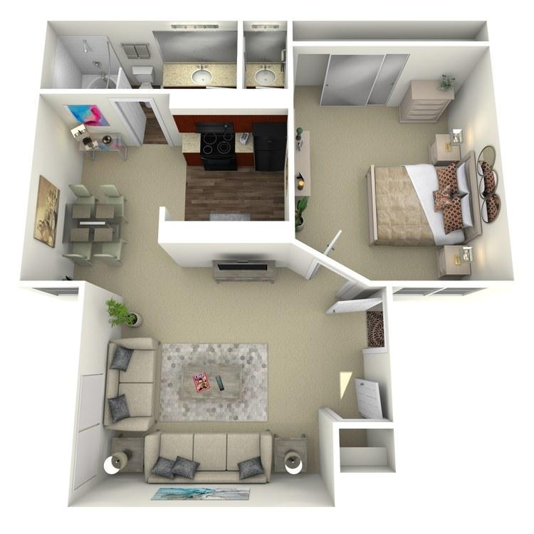 Floor plan image of Durango