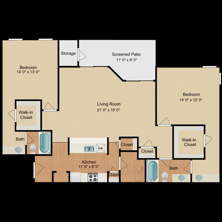 Floor plan image of Frank Sinatra
