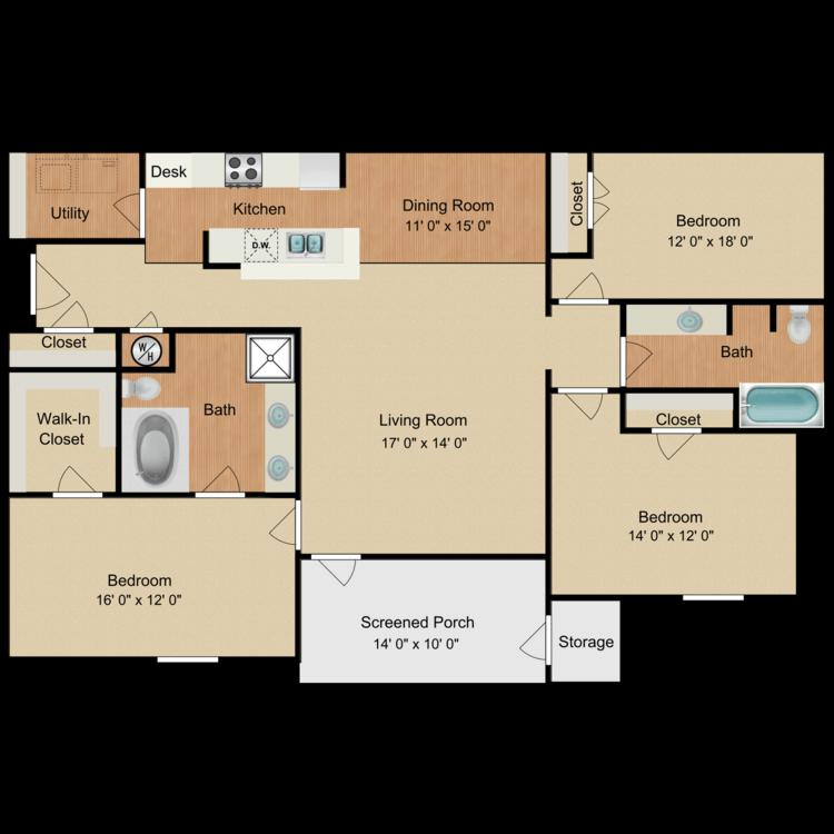 James Dean floor plan image