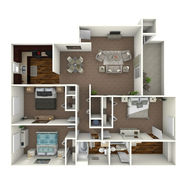 Floor plan image of Majesty