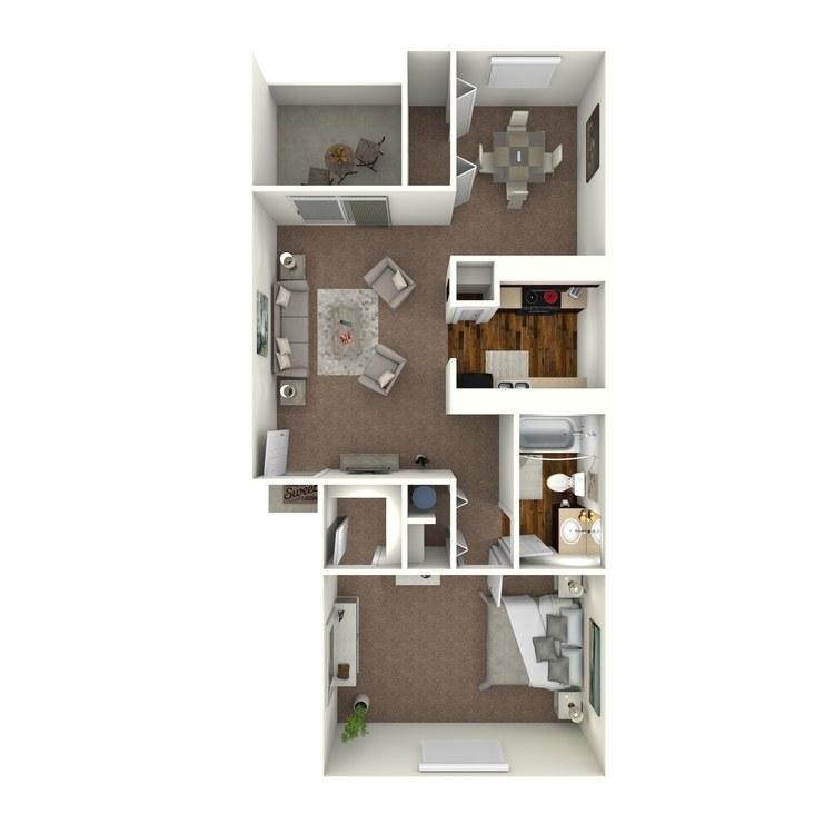 Floor plan image of Sabal