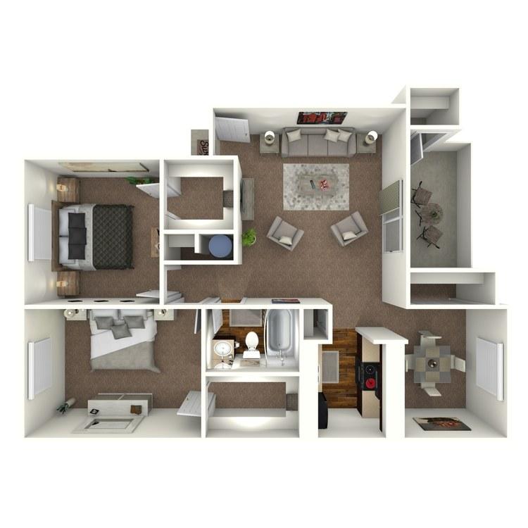 Floor plan image of Bismarc