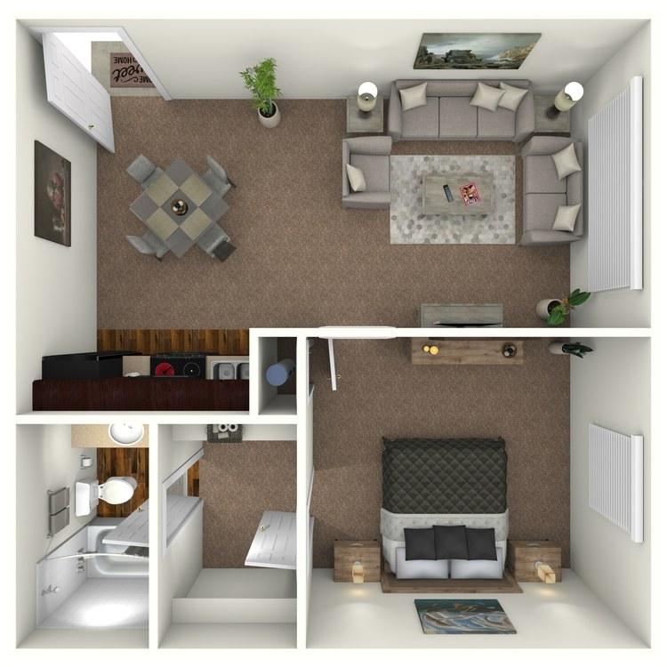 Floor plan image of Calusa