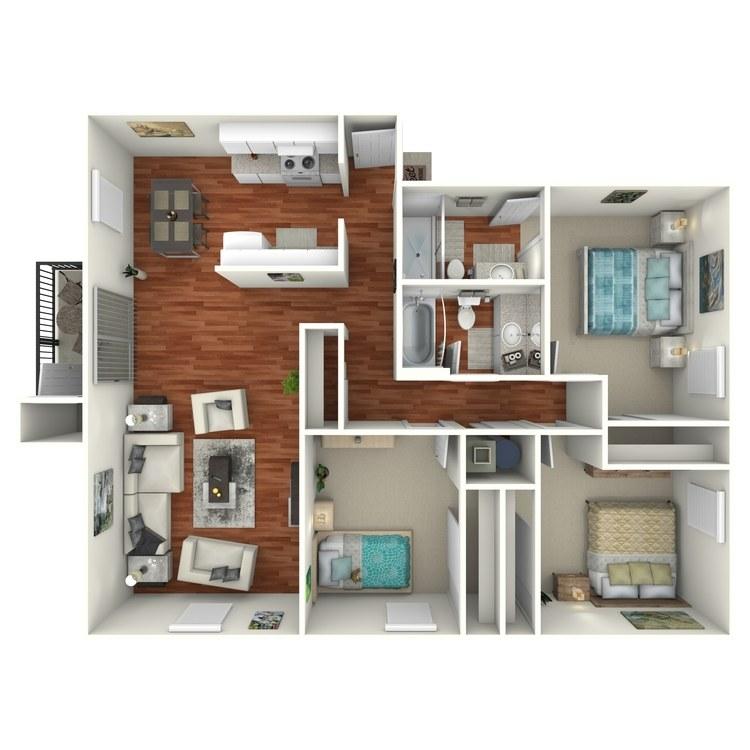 Floor plan image of Boca