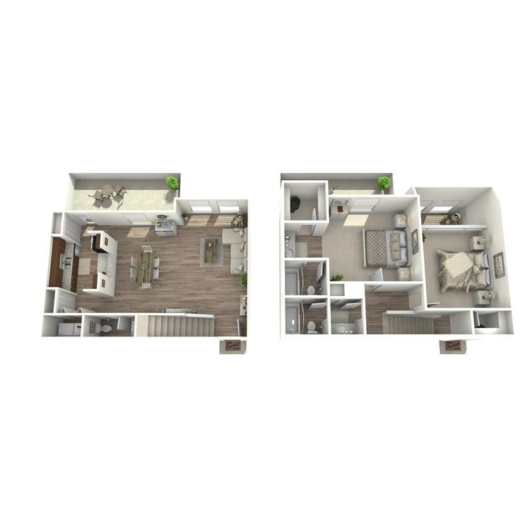 Floor plan image of B6P
