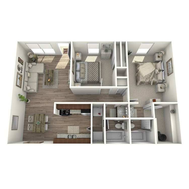 Floor plan image of B1P