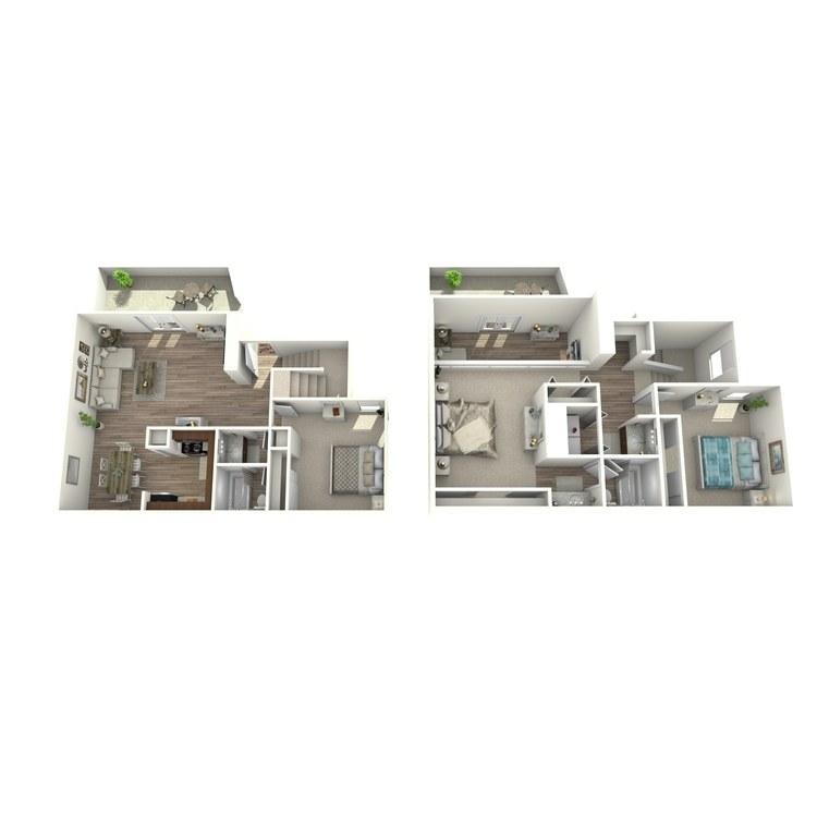 Floor plan image of C2P