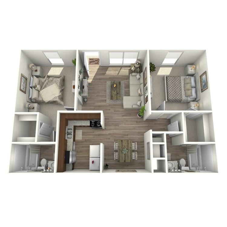 Floor plan image of B2P