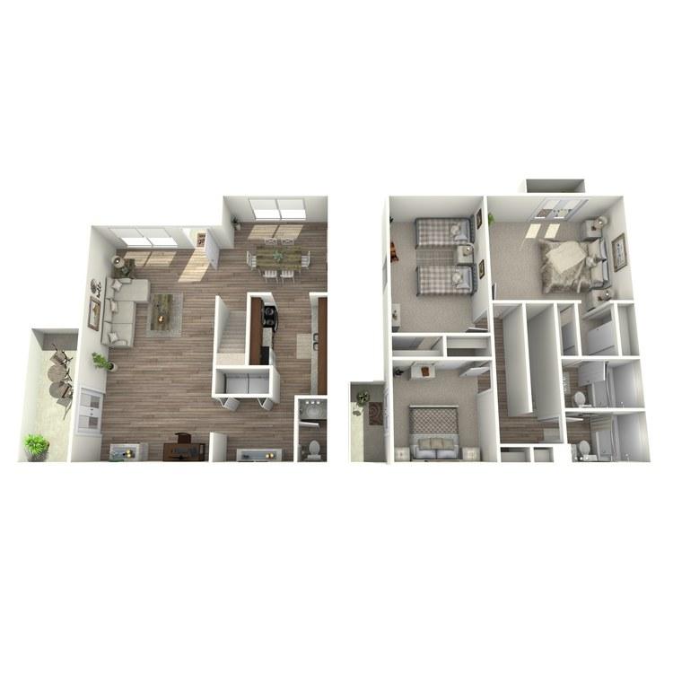 Floor plan image of C1P