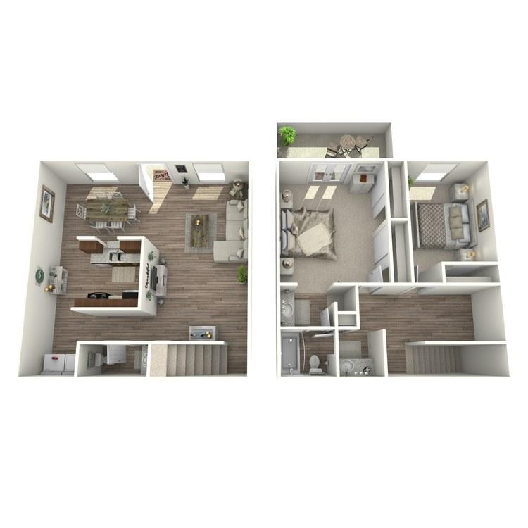 Floor plan image of B4P