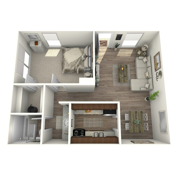 Floor plan image of A1P