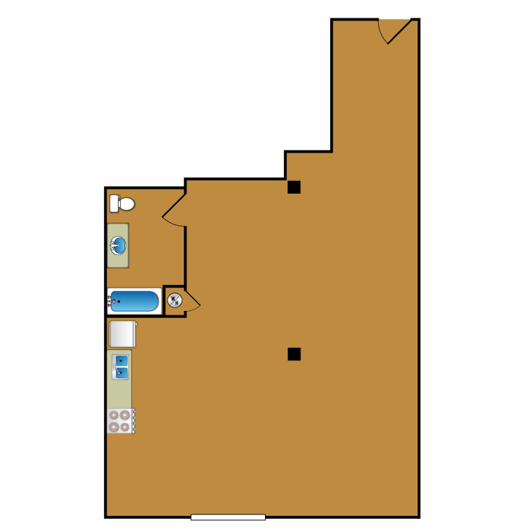 Floor plan image of Loft 101