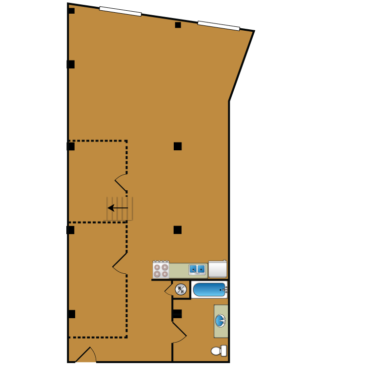 Floor plan image of Loft 103