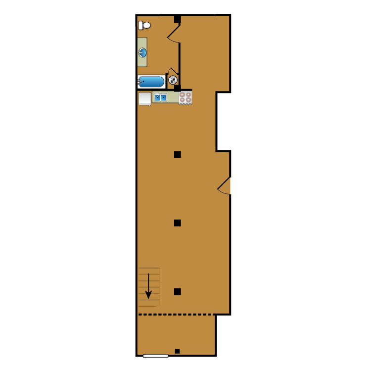 Floor plan image of Loft 104