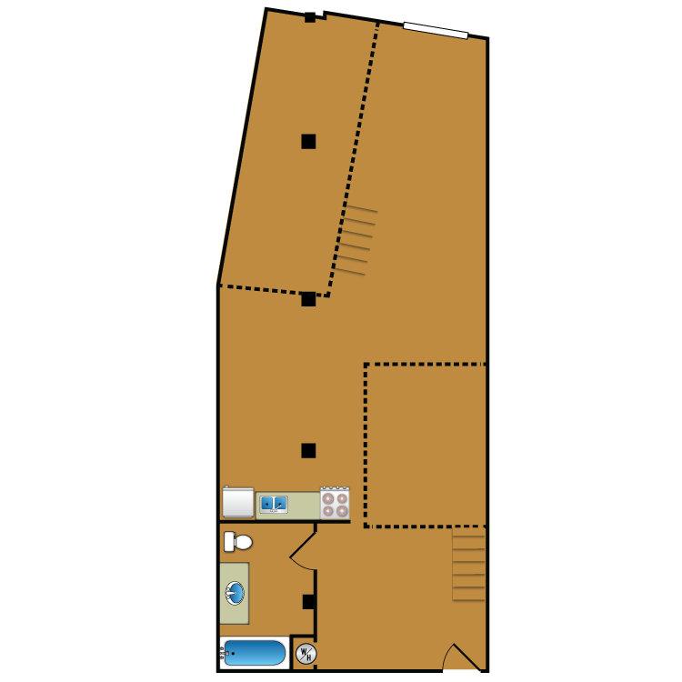 Floor plan image of Loft 105