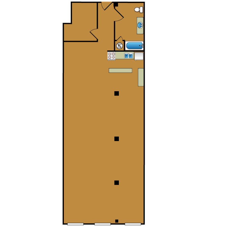 Floor plan image of Loft 106