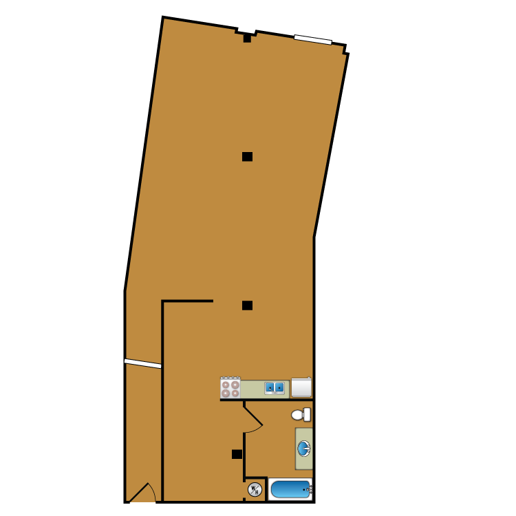 Floor plan image of Loft 107