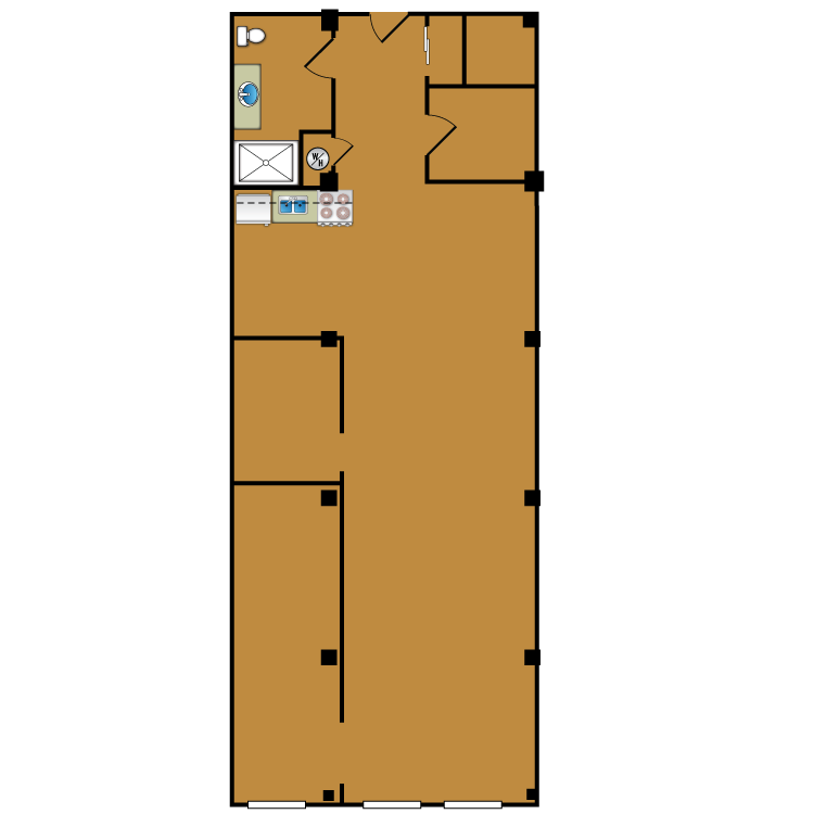 Floor plan image of Loft 108
