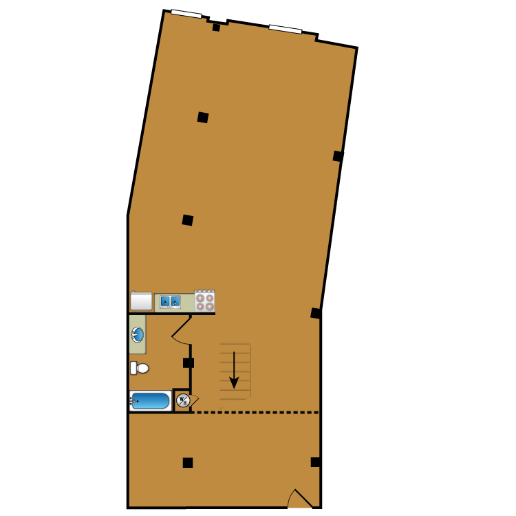 Floor plan image of Loft 109
