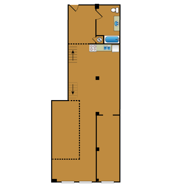 Floor plan image of Loft 110