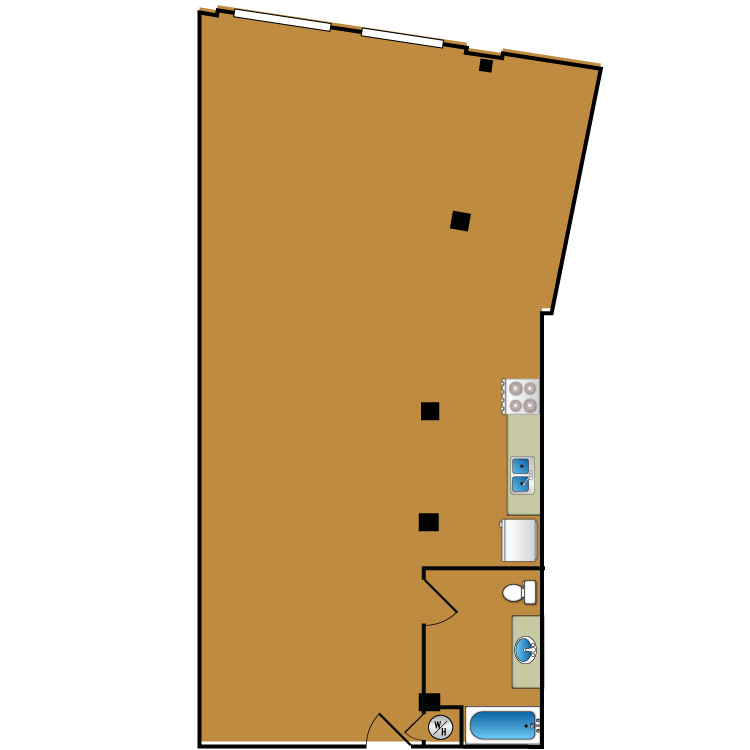 Floor plan image of Loft 111