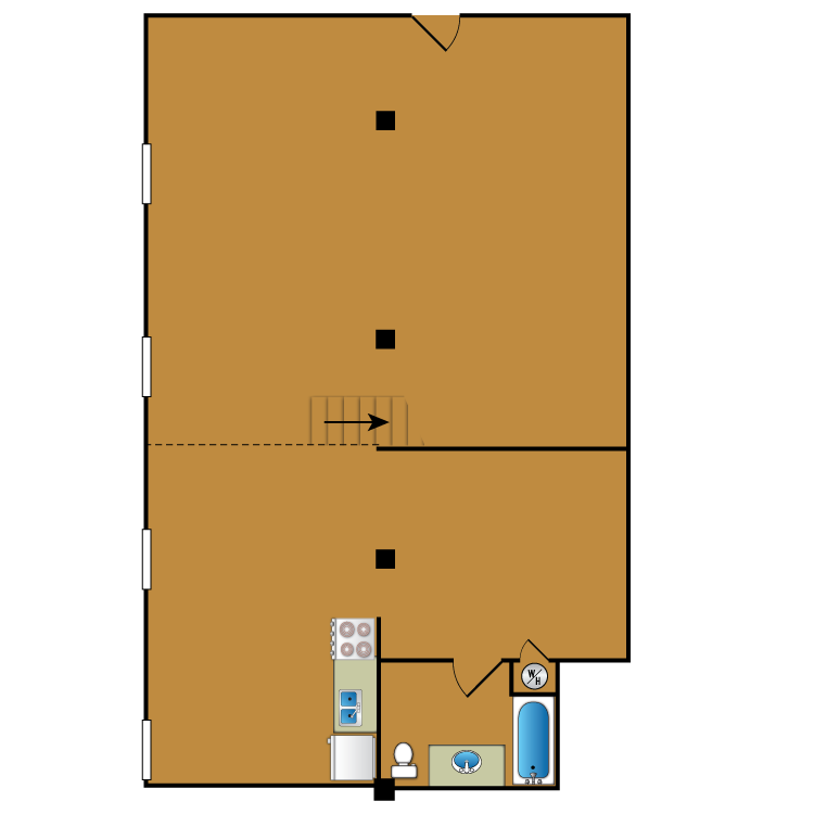 Floor plan image of Loft 113