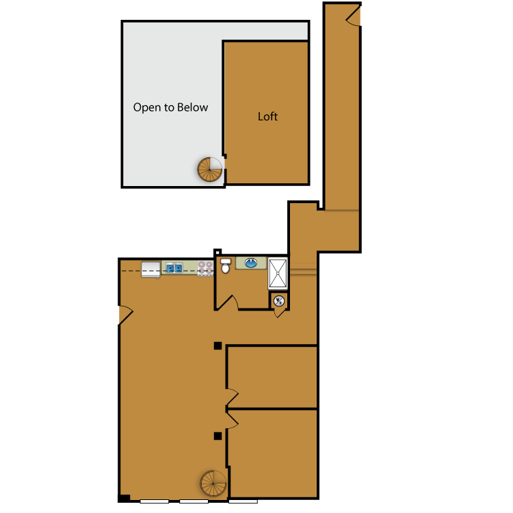 Floor plan image of Loft 114