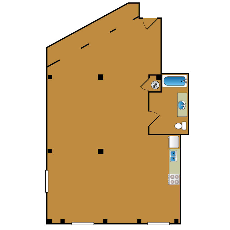 Floor plan image of Loft 200