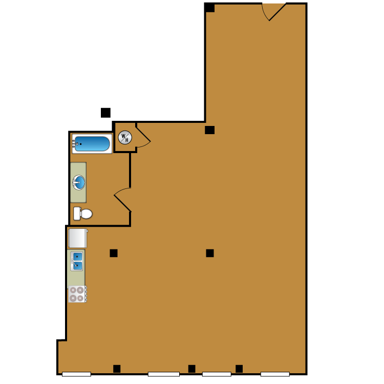 Floor plan image of Loft 201