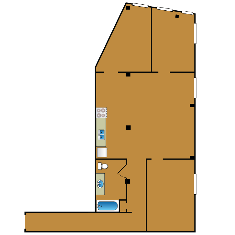 Floor plan image of Loft 202