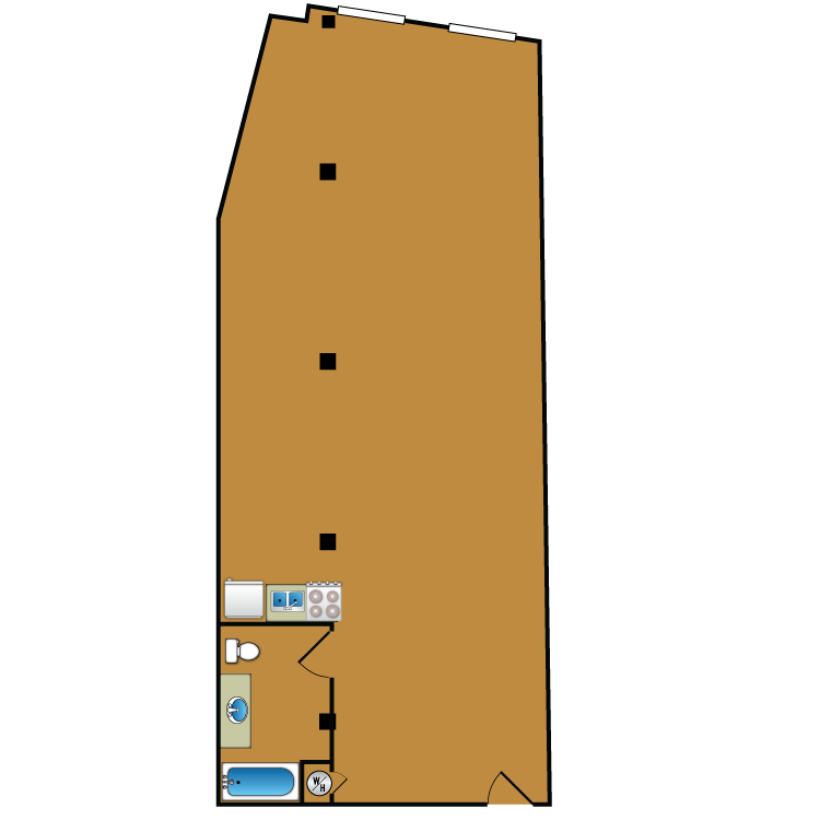 Floor plan image of Loft 205
