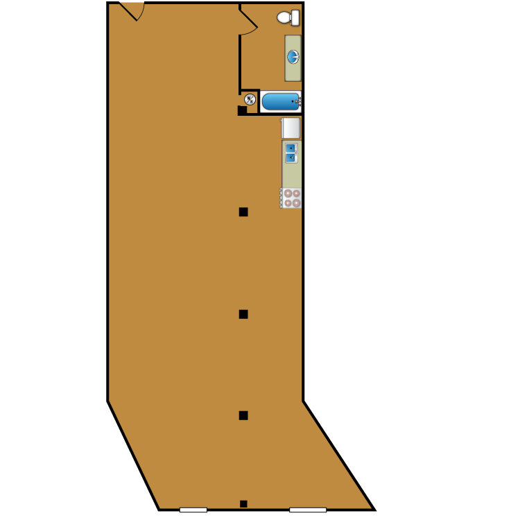 Floor plan image of Loft 206