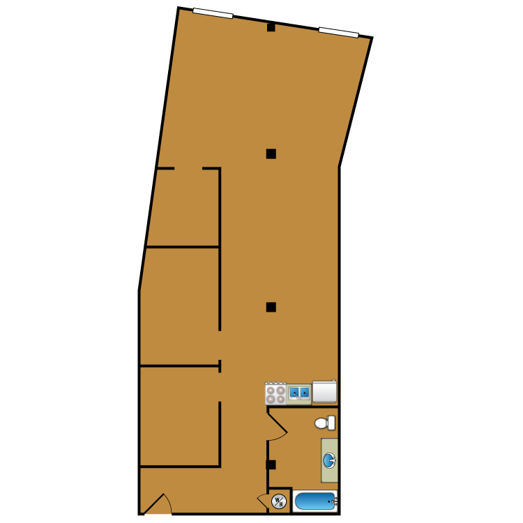 Floor plan image of Loft 207
