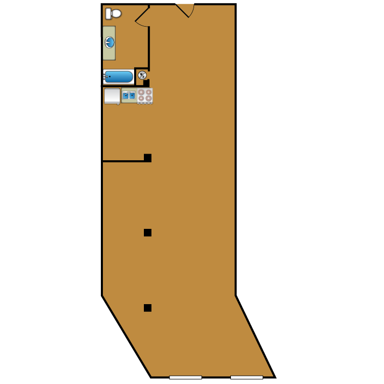 Floor plan image of Loft 208