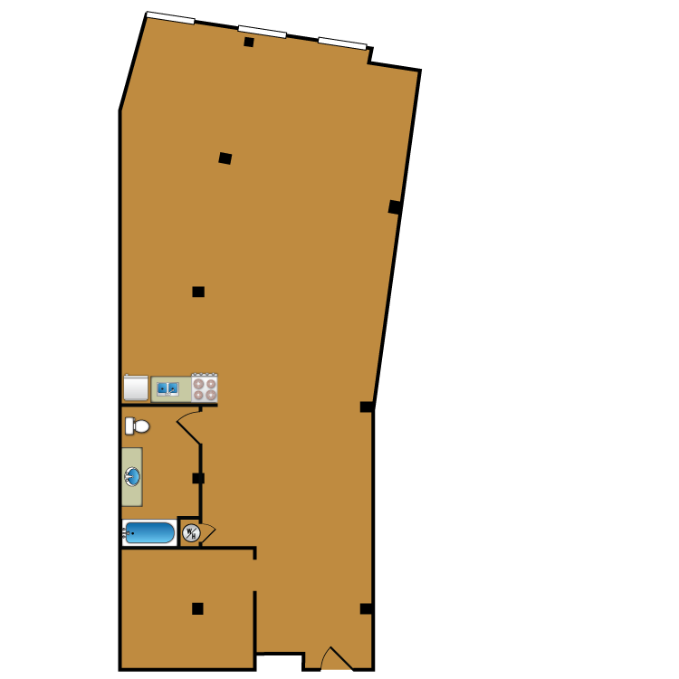 Floor plan image of Loft 209