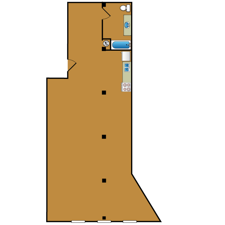 Floor plan image of Loft 210